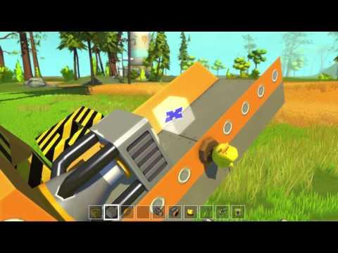 Scrap Mechanic - Rocket Launcher!! - YouTube