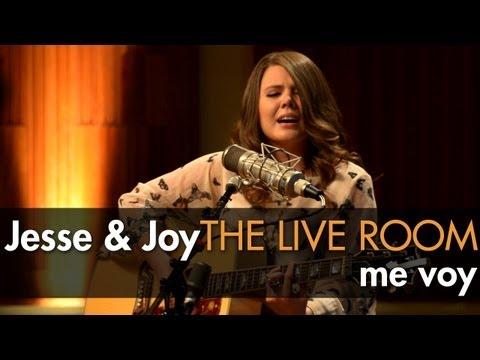 "Jesse & Joy - ""Me Voy"" captured in The Live Room"
