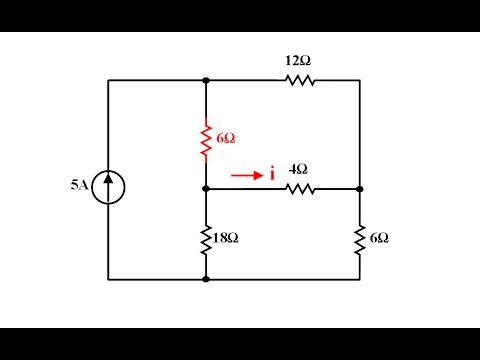 Devre Teorisi Ders 18 Düğüm Analiz Yöntemi Örnek 3 (Matlab ve Hesap Makinesi Çözümünü de İçerir)