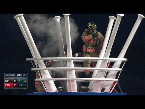 SF@CIN: Firefighters put out fire, get applauded