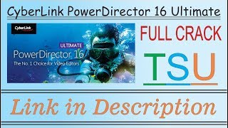cyberlink powerdirector 16 free download full version with crack