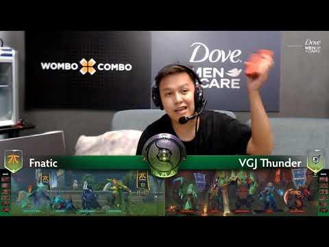 Fnatic vs VGJ Thunder Game 2 (Bo2) | The international 8 | Group Stage Day 1