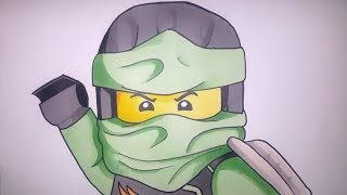 How To Draw Lloyd Garmadon From The Ninjago Movie Step By Step