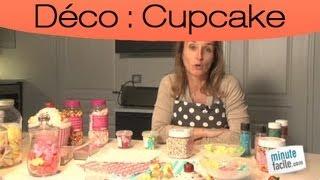 comment décorer cupcake
