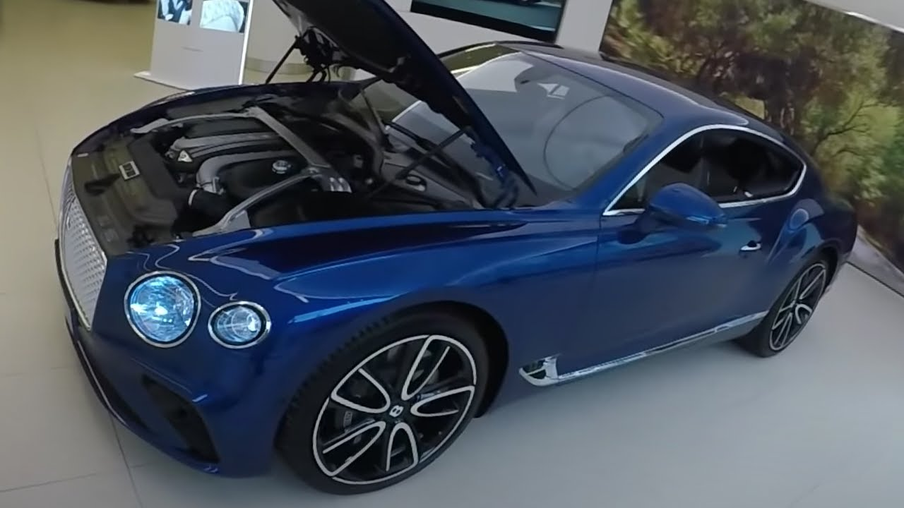 New Bentley 2019 THE NEW 2019 BENTLEY CONTINENTAL GT [FIRST LOOK!]   YouTube