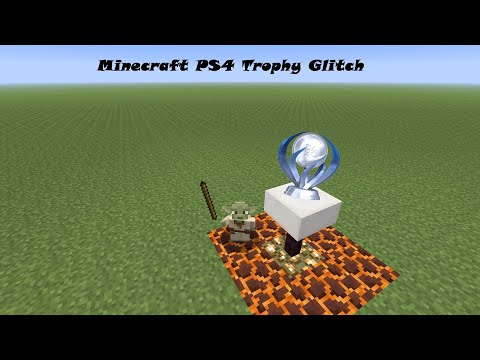 Minecraft Ps4 Trophy Glitch, Creative To Survival ~ 2019
