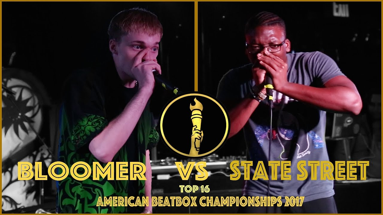 Bloomer vs State Street / Top 16 - American Beatbox Championships 2017