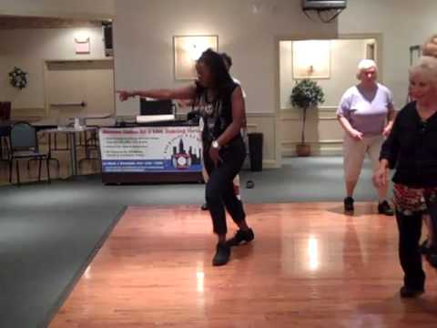 M.O.L.D 1st Line Dance...  KRAZY IN LUV  artist Beyonce...(Maurice Nu Soul Remix)