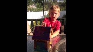 Home Depot Birdhouse Kit #digin