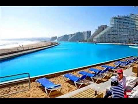 La piscina mas grande del mundo youtube for Ver piscinas grandes