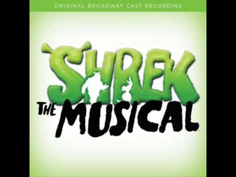 Shrek The Musical ~ I Think I Got You Beat ~ Original Broadway Cast