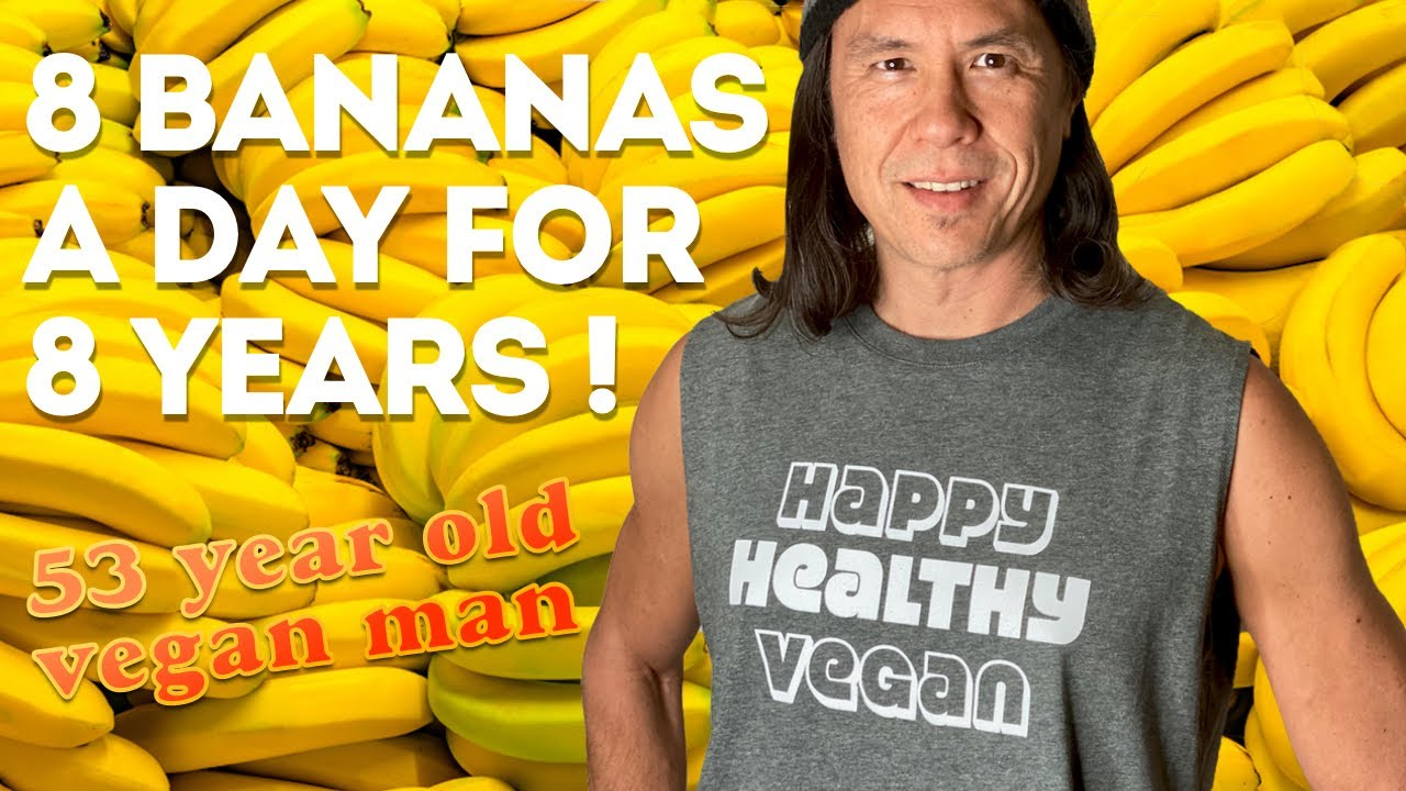 I Ate 8 Bananas A Day For 8 Years. What Happened To My Body?