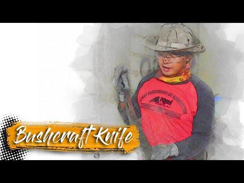 MEMBUAT PARANG (BUSHCRAFT KNIFE)