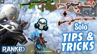 GARENA FREEFIRE SOLO RANK RUSH TIPS & TRICKS WITH PRO GAMEPLAY 11 KILLS || PRO NATION