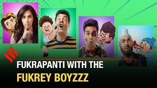 Richa Chadha is the bully of our group: Varun Sharma   Fukrey Boyzzz   Animated series