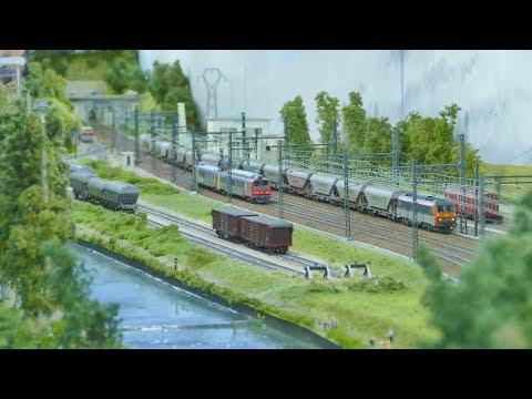 Exposition internationale de modélisme ferroviaire à Brive la Gaillarde 2017