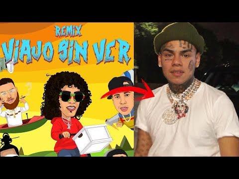 VIAJO SIN VER Remix de JON Z ¿Porque salió 6IX9INE?