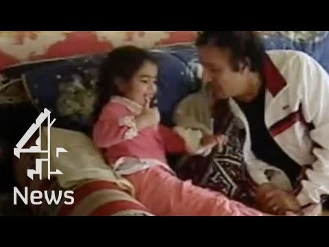 Muammar Gaddafi relaxes at home