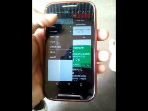 Samco mobile app how to check your balance