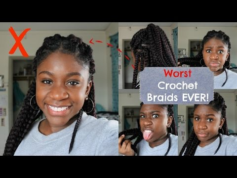 FAIL! Worst Crochet Box Braids! | Vanessa Collection Havana Box Braid 24""