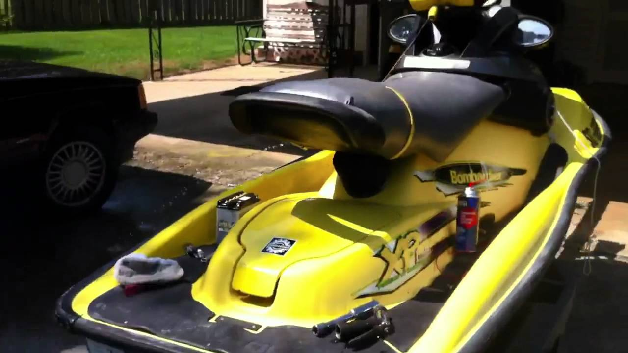 7 Seater Vehicles >> '98 Seadoo XP-L first start! - YouTube