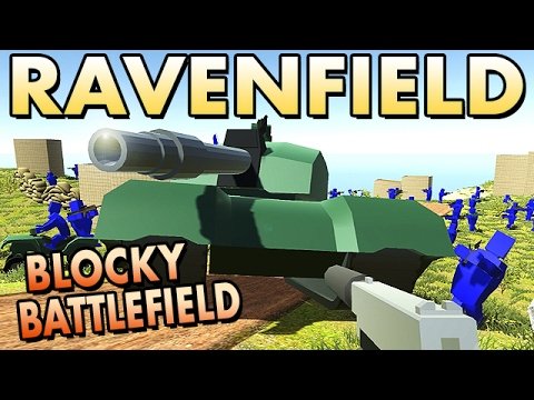 Ravenfield Beta 5 German Gameplay - Blocky Battlefield