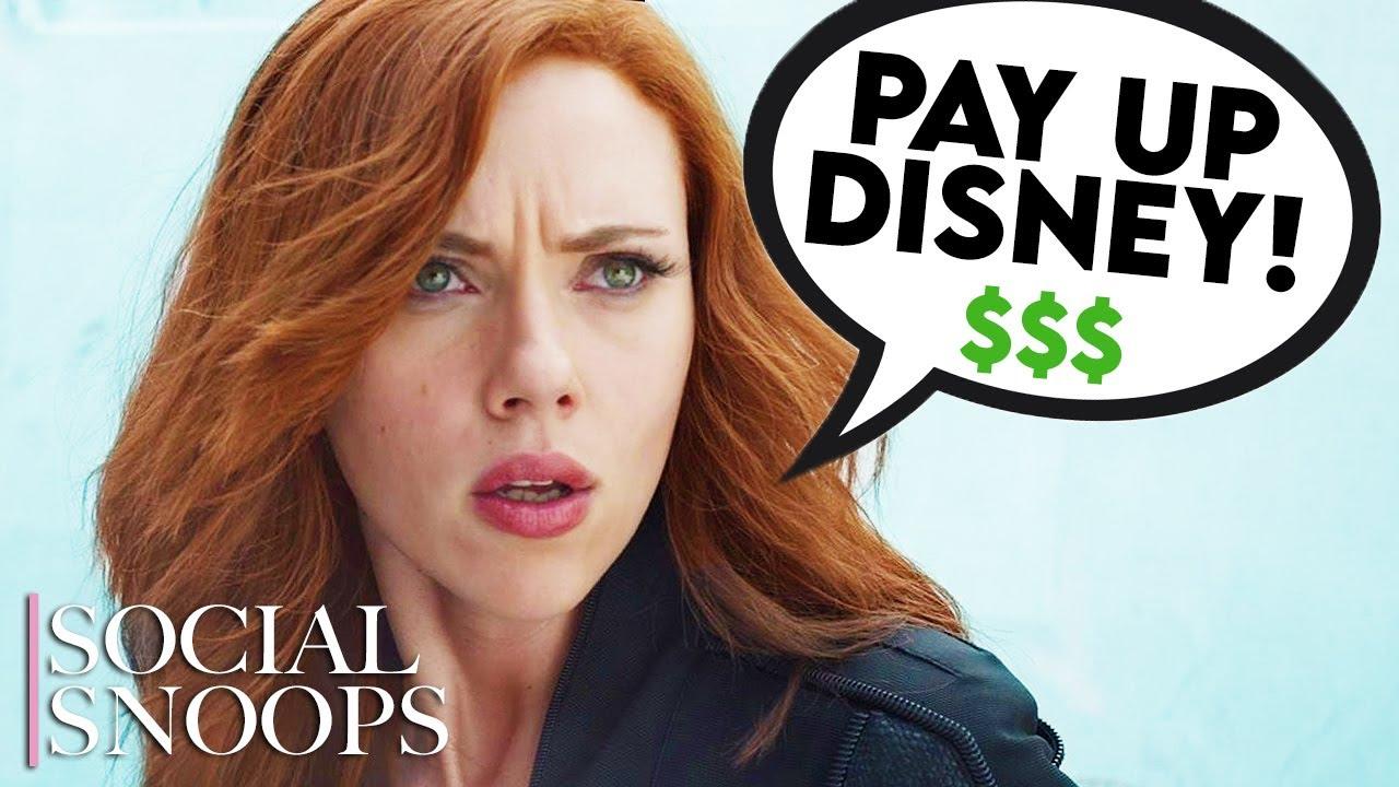 Disney's Doing Major Damage Control After Scar Jo Lawsuit
