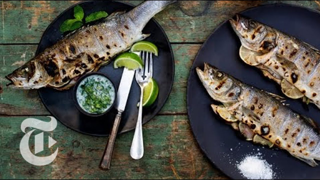 Grilled Whole Fish with Chiles and Coconut | Melissa Clark Recipes | The New York Times