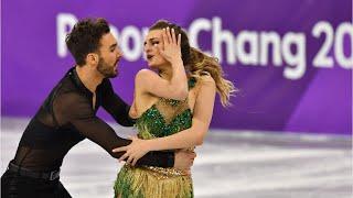 French Figure Skater Finishes Despite Wardrobe Malfunction thumbnail