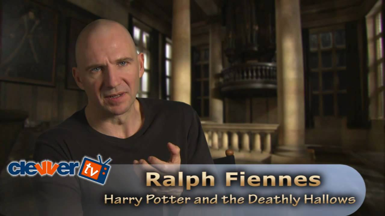 Ralph Fiennes: Harry Potter and the Deathly Hallows Interview ... Ralphfiennes