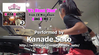 "12 y old Drummer Kanade Sato ""It"