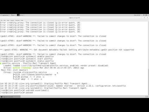 CentOS Email Server Postfix, Dovecot y Webmail con Squirrelmail