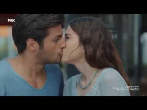 Cherry season - kissing scene (English subtitled) | Kiraz mevsimi موسم الكرز