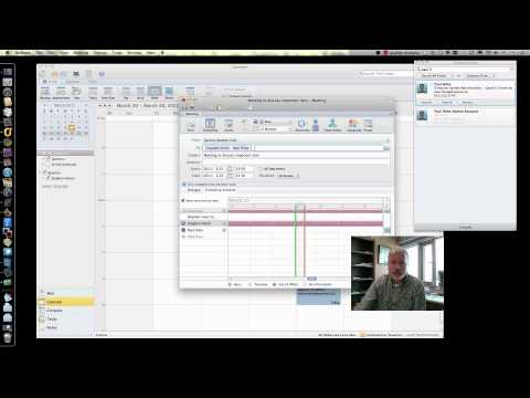 Scheduling With Outlook 2011 (Mac OS)