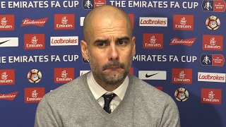 Huddersfield Town 0-0 Manchester City - Pep Guardiola Full Post Match Press Conference - FA Cup
