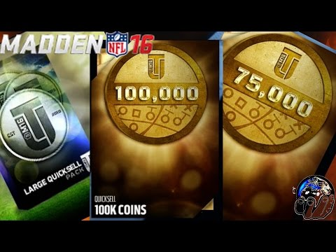Large Quicksell Coin Glitch! MUT COINS! | Madden 16 Ultimate Team | MUT 16 Tips