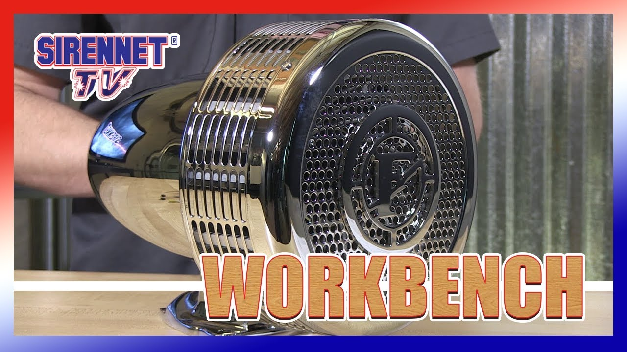 Federal Signal Q2B Electro-Mechanical Siren - YouTube on