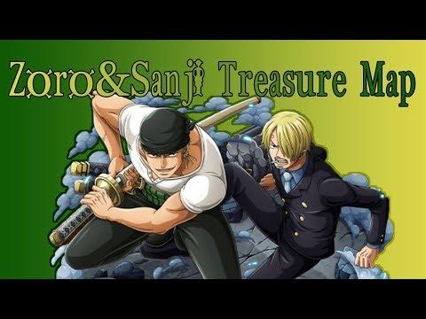 One Piece Treasure Cruise JP   Zoro&Sanji Treasure Map