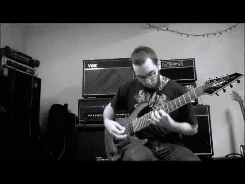 Dark Ambient Noise 8 Strings Guitar Synthesizers Winter Session 2015