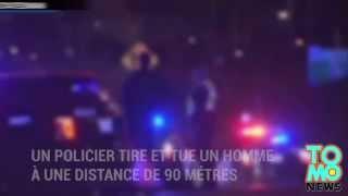 Un policier tire et tue un homme à une distance de 90 mètres dans l'obscurité