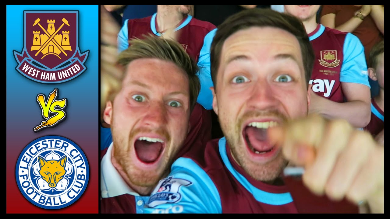 west ham vs leicester city premier league 1516 youtube