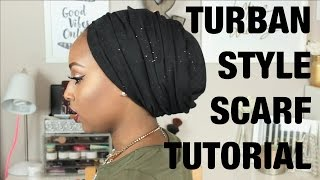 One of Aysha Abdul's most viewed videos: TURBAN STYLE SCARF TUTORIAL!!!