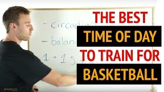 BASKETBALL TRAINING SECRET - How to Set up a Basketball Training Schedule (Basketball Workouts)
