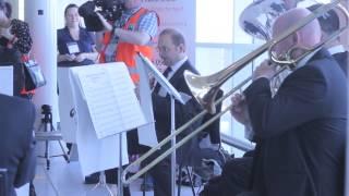 CBSO Brass Players Welcome Birmingham Airport