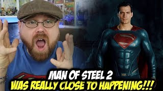 Man of Steel 2 was Really Close to Happening!!!