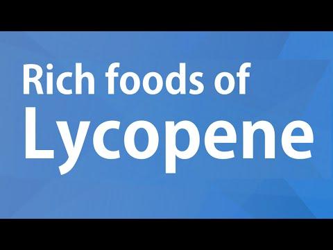 RICH FOODS OF LYCOPENE - GOOD FOOD GOOD HEALTH - BENEFITS OF WELLNESS