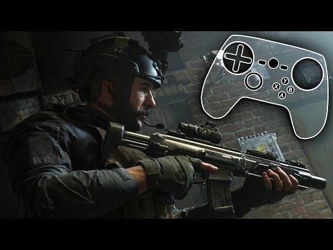 Call Of Duty: Modern Warfare - Steam Controller Configuration + Gameplay