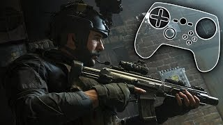 Call of Duty: Modern Warfare - Steam Controller Configuration + Gameplay