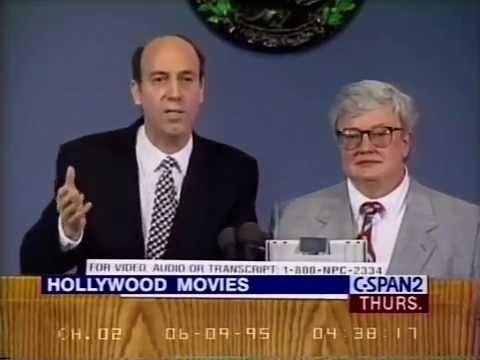 Roger Ebert and Gene Siskel talk Hollywood Culture  Q&A 1995