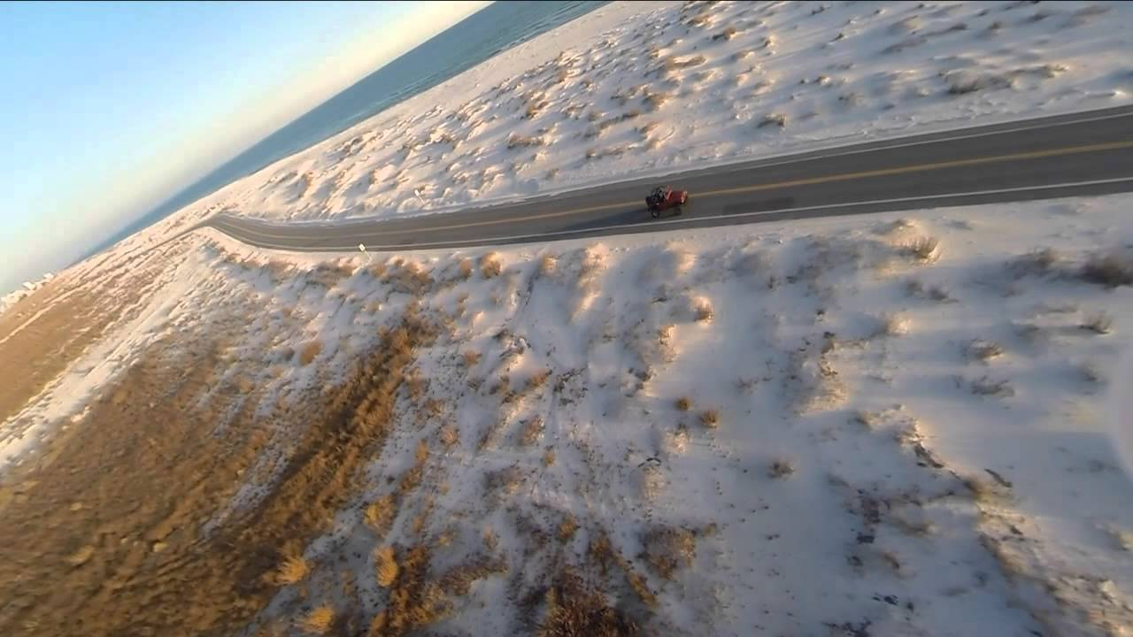 Pensacola Beach Fort Pickens Drive Aerial Video Jono Gould